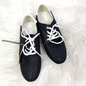 NEW Anthropologie Sixty Seven glitter sneakers